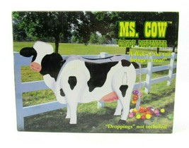 New Ms. Cow Wooden Candy Dispenser Funny Gag Toy Gift Poops Scaasis Farm... - $15.79