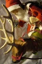 Bethany Lowe Vintage Santa Riding Reindeer image 2
