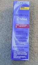 Loreal Excellence Creme Gray Coverage #6 Light Brown--FREE SHIPPING! - $7.80