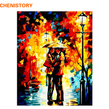 Landscape DIY Painting By Numbers Lovers Acrylic Paint On Canvas Hand-Pa... - $24.99