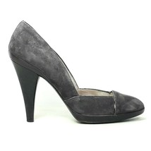 Salvatore Ferragamo Womens Dark Gray Suede Heels Pumps Shoe Size 8.5B US... - $79.99