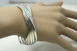 Tiffany & Co Melody 9 Slinky Bracelets Sterling Silver Wide Bangle - $1,013.64