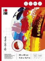Marabu 161200033 – Bloc de papier pour peinture à l'huile 30 x 40 cm, 24... - $28.82