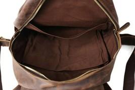 Sale, Vintage Handmade Leather Backpack, Men's Leather Backpack, Travel Backpack image 4