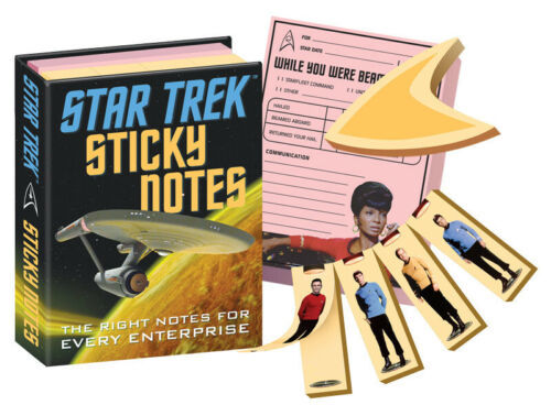 Classic Star Trek TV Series Photo Images Sticky Notes SEALED NEW UNUSED - $6.89