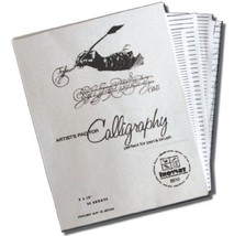 Inovart Calligraphy Paper And Lettering Guides - $28.63