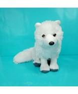 "Arctic Fox Plush Stuffed Animal by Wild Republic 12"" White Grey Paws Rea... - $21.77"
