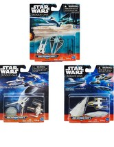 Star Wars Rogue One Micro Machines 3 Pack of iconic Movie Vehicles Collectibles - $34.95