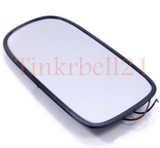 Jaguar 97-06 XK8 XKR Left Door Mirror Glass HNA3072AA Heated OEM Driver Side LH - $36.47