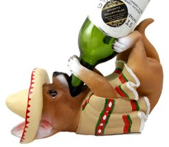 Atlantic Collectibles Adorable Mexican Chihuahua Poncho Sombrero Decorat... - $26.68