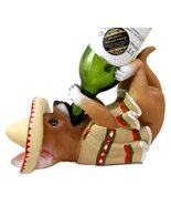 Atlantic Collectibles Adorable Mexican Chihuahua Poncho Sombrero Decorat... - $26.68