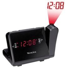 Westclox 80208 Digital LCD Projection Alarm Clock with AM/FM Radio - $38.92