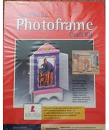 "Wooden 4"" x 6"" Photo Frame Craft Kit TAF-124 NIB - $11.57"