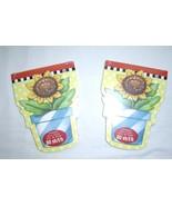 2 Mary Engelbreit 80 Sheet Each SunFlower Pot Notepads New - $11.99