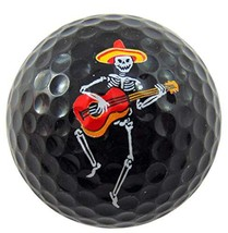 Westman Works Day of The Dead Mariachi Golf Ball Novelty Gift in a Presentation