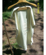 Blankets and Beyond Yellow baby blanket fleece type material - $1.50