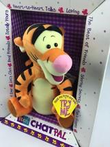 Winnie The Pooh Chat Pals Tigger By Mattel Vintage (1999)/Talking/Electr... - $55.74