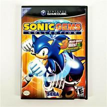 SONIC GEMS Collection (Nintendo GameCube 2005) 3 HITS + 6 Bonus Games w/... - $68.50