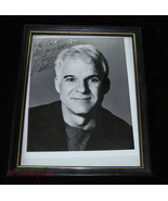 Steve Martin Autographed Black & White 8x10 Photo Framed - $26.99