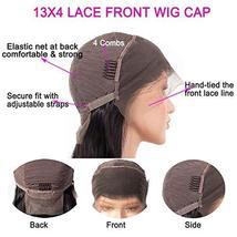 Tinashe 9A Human Hair Wigs Bob Wig Straight Hair 13x4 Lace Front Human Hair Wigs image 7