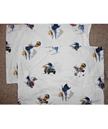 Pottery Barn Kids Batman Robin Set 2 Pillow Cases FLAW - $16.34