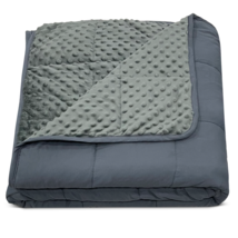 Boston Linen Co. Weighted Blanket - Gray Inner - 15 Pounds - Twin Size. - $56.68