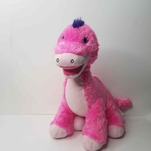 build-a bear pink purple dinosaur toy plush doll unisex - $21.60