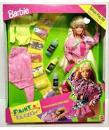 1993 Mattel Paint N' Dazzle Barbie Deluxe Play Set New Sealed - $79.99