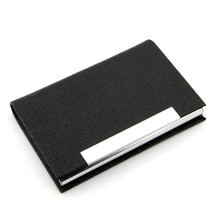 Partstock(TM) PU Leather and Stainless steel Business Name Card Holder W... - $17.17