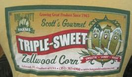 T Shirt Unisex Pit to Pit 19 M ZELLWOOD Florida Corn funny Scott's Gourmet cttn - $8.97