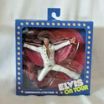 "NECA Elvis Presley On Tour Live 1972 Commemorative 7"" Action Figure MIB - $46.52"