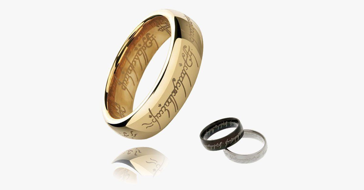 The Hobbit Inspired Ring