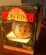 Lion King ornament never opened in box - $2.97