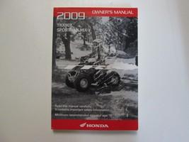 2009 Honda TRX90X Sportrax 90X Owners Manual Oem Book Used Factory Dealership 09 - $11.05