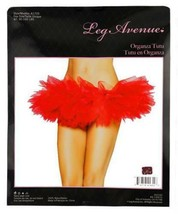 NEW LEG AVENUE WOMEN'S SEXY TUTU BALLET DANCE SKIRT A7105 ONE SIZE RED image 2