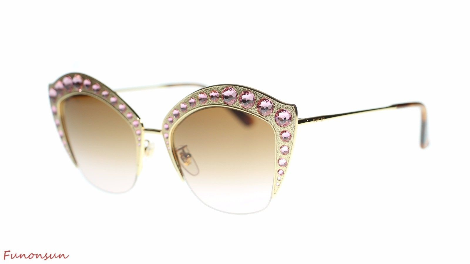 ea120296bcf7d Gucci Women Cat Eye Sunglasses GG0114S 002 and 42 similar items. 10