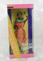 Kenyan Barbie 1993 Dolls of the World Collection Mattel NRFB - $17.81