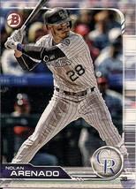 2019 Bowman Baseball  #22 Nolan Arenado - Colorado Rockies - $2.00