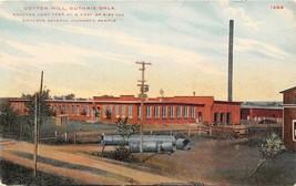 Cotton Mill Guthrie Oklahoma 1910c postcard - $7.38
