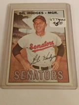 1967 Topps #228 Gil Hodges MG : Washington Senators - $3.09