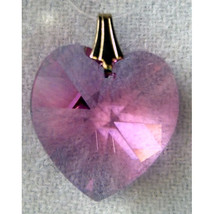 Swarovski Small Crystal Heart Prism image 8