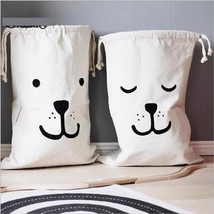 Toy Drawstring Storage Bag Large Baby Toys Storage Household Pouch Organ... - $9.09