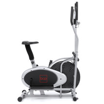 Elliptical Bike Cross Trainer Exercise Fitness Machine LCD display 2-in-1 - $203.96