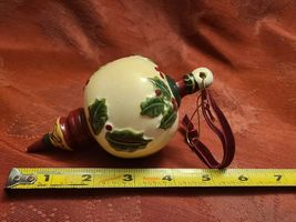 Ceramic Bisque Hand-Painted The Best Gift is Family & Friends Christmas Ornament image 3