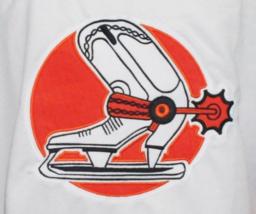 Custom Name # Denver Spurs Retro Hockey Jersey New White Anderson #42 Any Size image 4