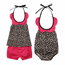 Summer Kids Baby Girls Little Sister Romper Big Sister Dress Sleeveless ... - $9.40+
