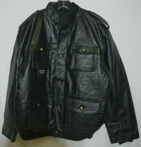 Counter Attack MJ018J Mens Polyester Jacket Color Black Size 4XL