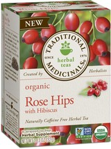 Traditional Medicinals Organic Rose Hips with Hibiscus Herbal Leaf Tea, ... - $41.49