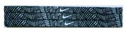 Nike Unisex Running All Sports Black Printed Design Headband New - $6.50