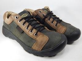Keen Austin Size 10.5 M (D) EU 44 Men's Lace-Up Oxford Casual Shoes Brown